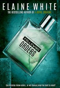 Luxury male perfume in a transparent spray bottle.