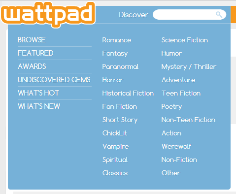 Wattpad: Getting Started – Vampires, Crime and Angels