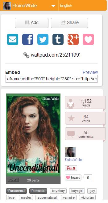 Wattpad Screenshot 7