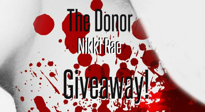The Donor Giveaway banner