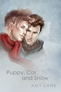 Puppy, Car and Snow